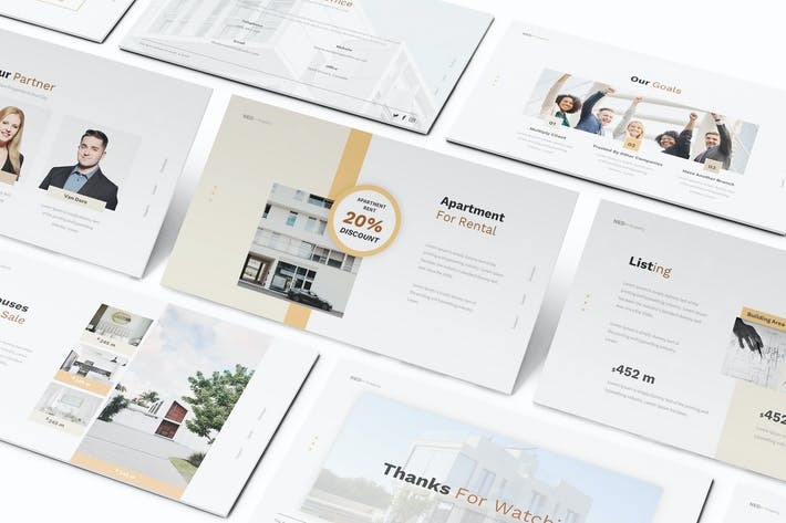 Apartment Property Keynote Template
