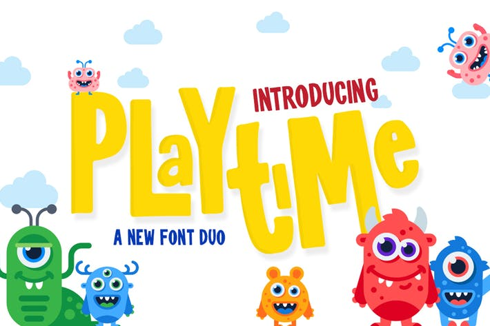 Thumbnail for Playtime Font