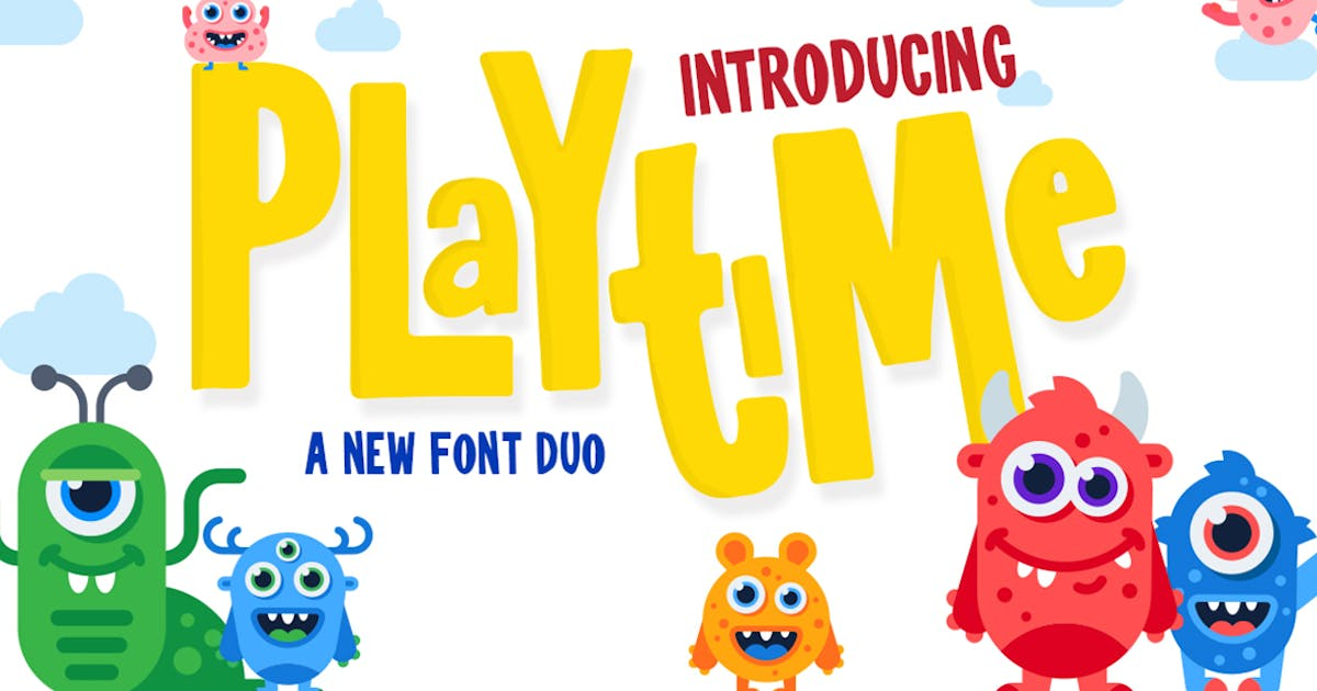 Download Playtime Font by maroonbaboon