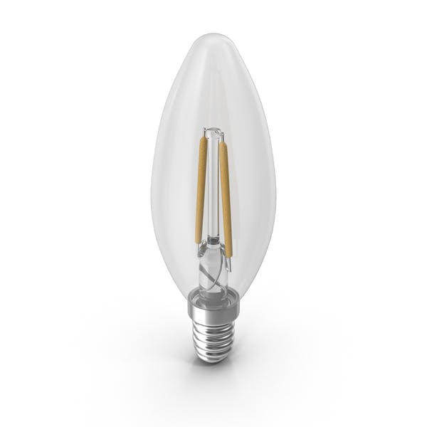 Cover Image for LED Candle Bulb
