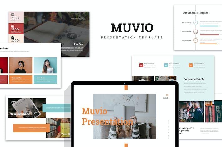 Muvio : Book Powerpoint