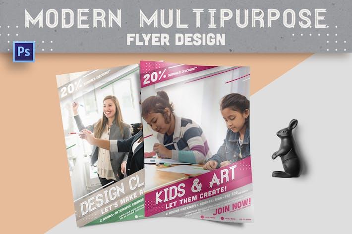 Thumbnail for Modern Multipurpose Flyer