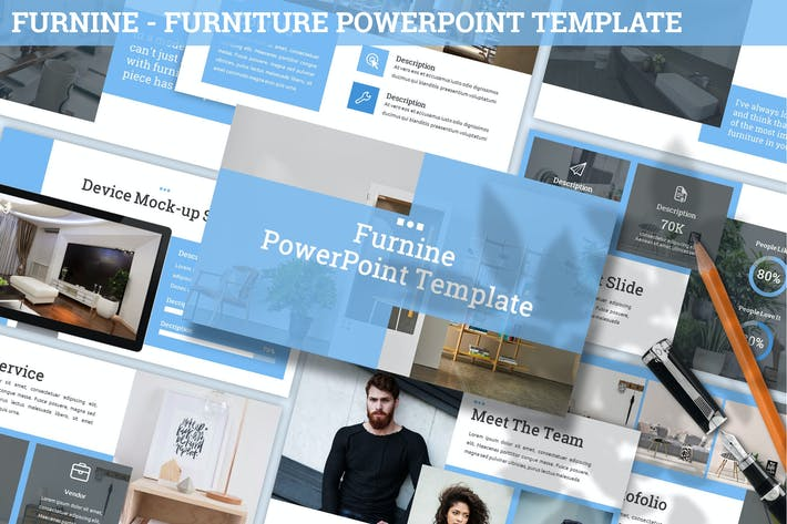 Thumbnail for Furnine - Furniture Powerpoint Template