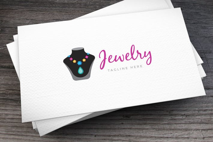 Thumbnail for Jewelry Logo Template