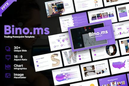 Bino.ms Trading Business Powerpoint Template