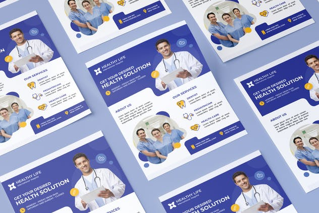 Medical healthy flyer