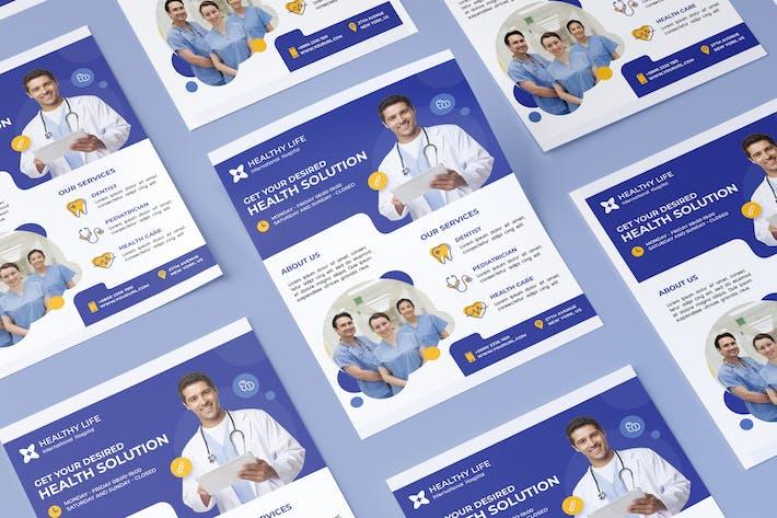 Thumbnail for Medizinische gesunde Flyer