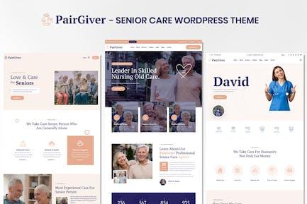 PairGiver - Senior Care WordPress Theme