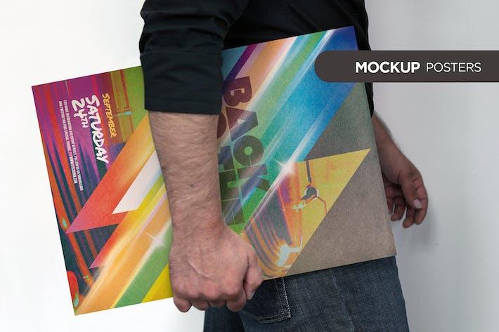 Thumbnail for Poster Frame Mockup Kit Vol 01