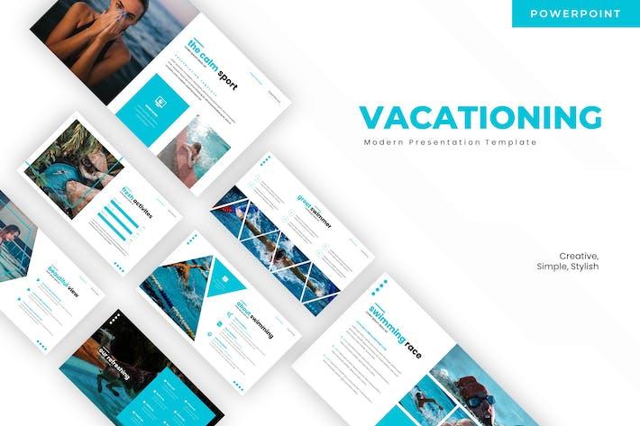 Отпуск - Шаблон Powerpoint
