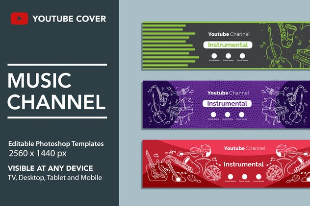 Music Youtube Cover - product preview 0