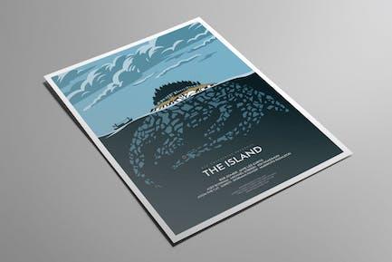 Die Insel Flyer Poster