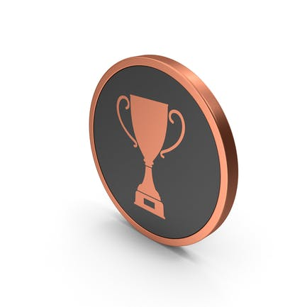 Bronze Icon Trophy Cup