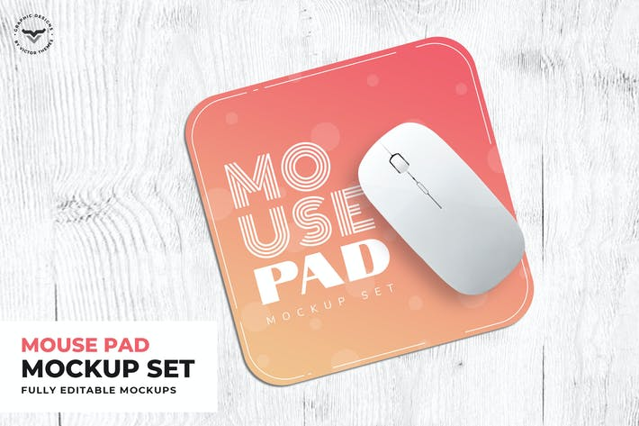Thumbnail for Mouse Pad Mockups