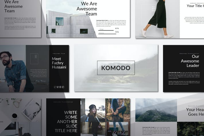 Thumbnail for Komodo | Powerpoint Templates