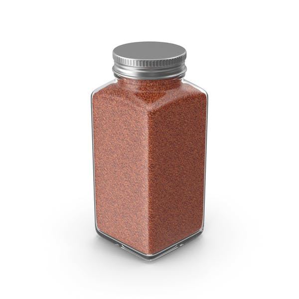 Spice Jar No Label