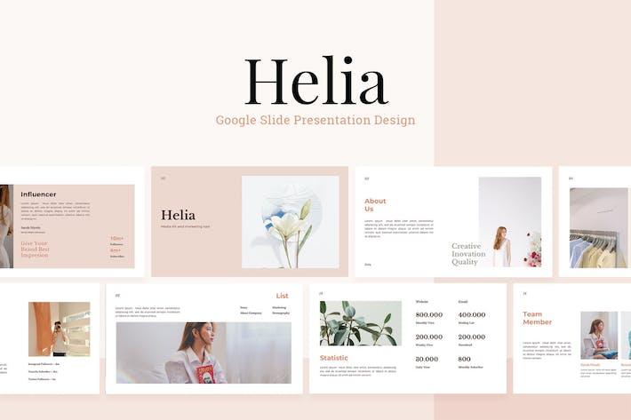 Thumbnail for Helia - Шаблон слайдов Google