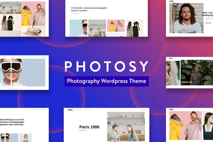 Thumbnail for Photosy - Photography WordPress Theme