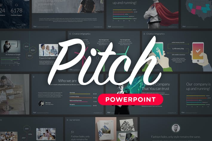 Thumbnail for Pitch - Powerpoint Template