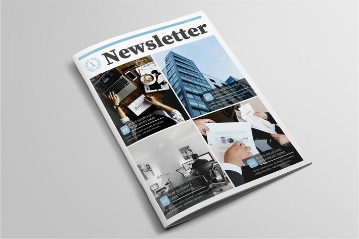 Thumbnail for Multipurpose Newsletter