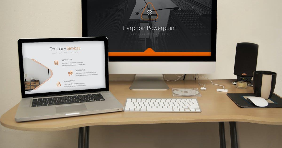 Download Harpoon - Keynote Presentation Template by SlideFactory