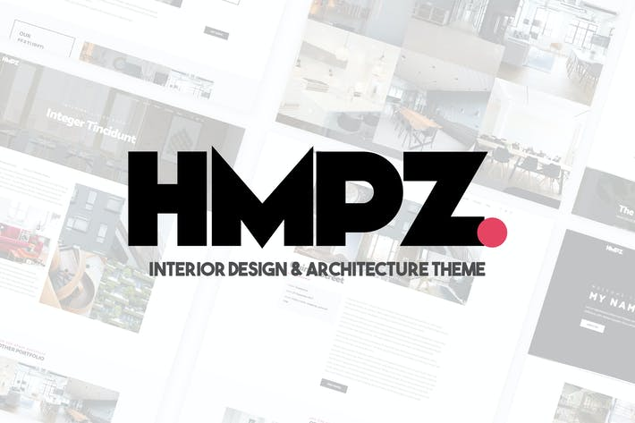 Thumbnail for Hampoz - Responsive Interior Design & Architecture