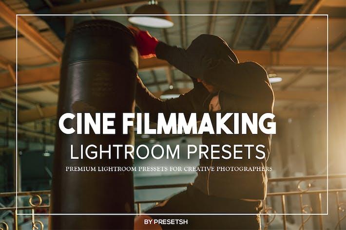Thumbnail for Cine Filmmaking Lightroom Presets