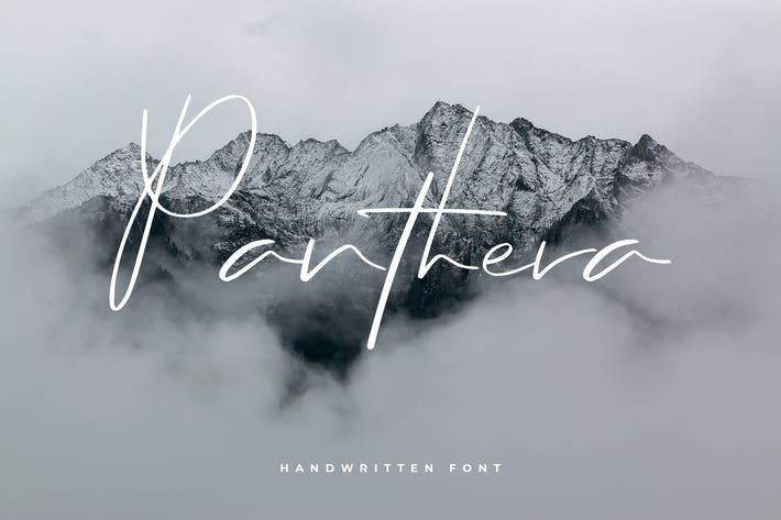 Thumbnail for Panthera - Hand Lettering Script