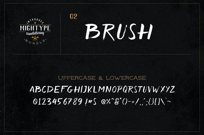 Thumbnail for Mightype 02 - Brosse