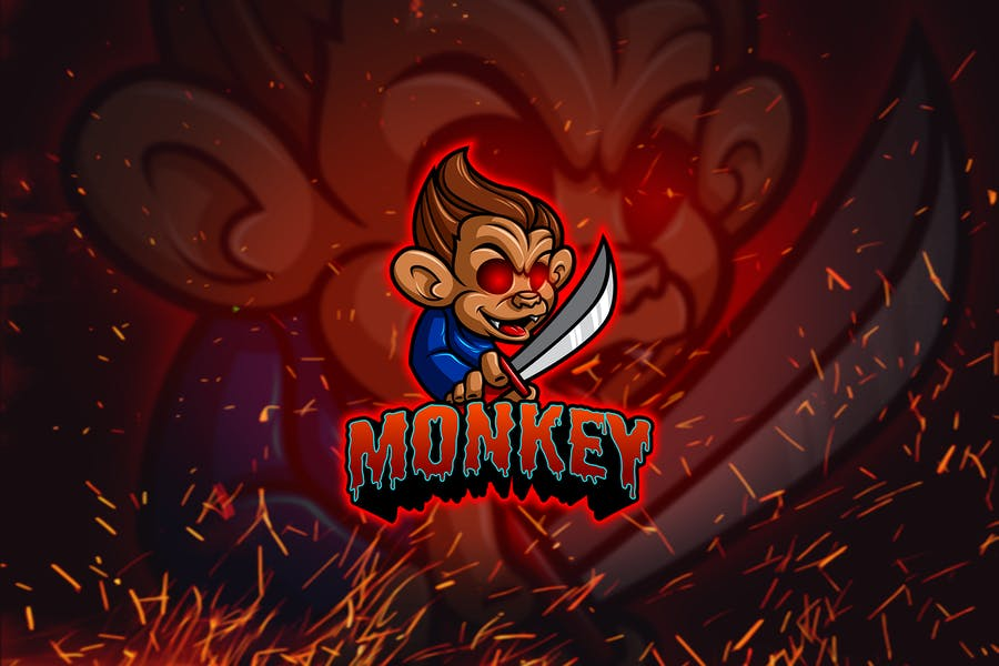 Monkey Bandit - Esports & Mascot Logo YR