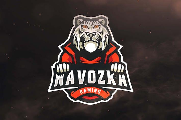 Thumbnail for Tiger Gaming Sport and Esports Logos