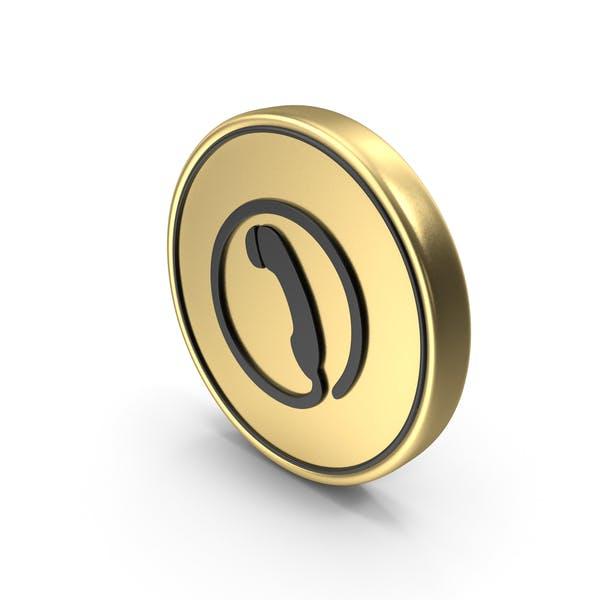 Rufen Sie Münze Logo I