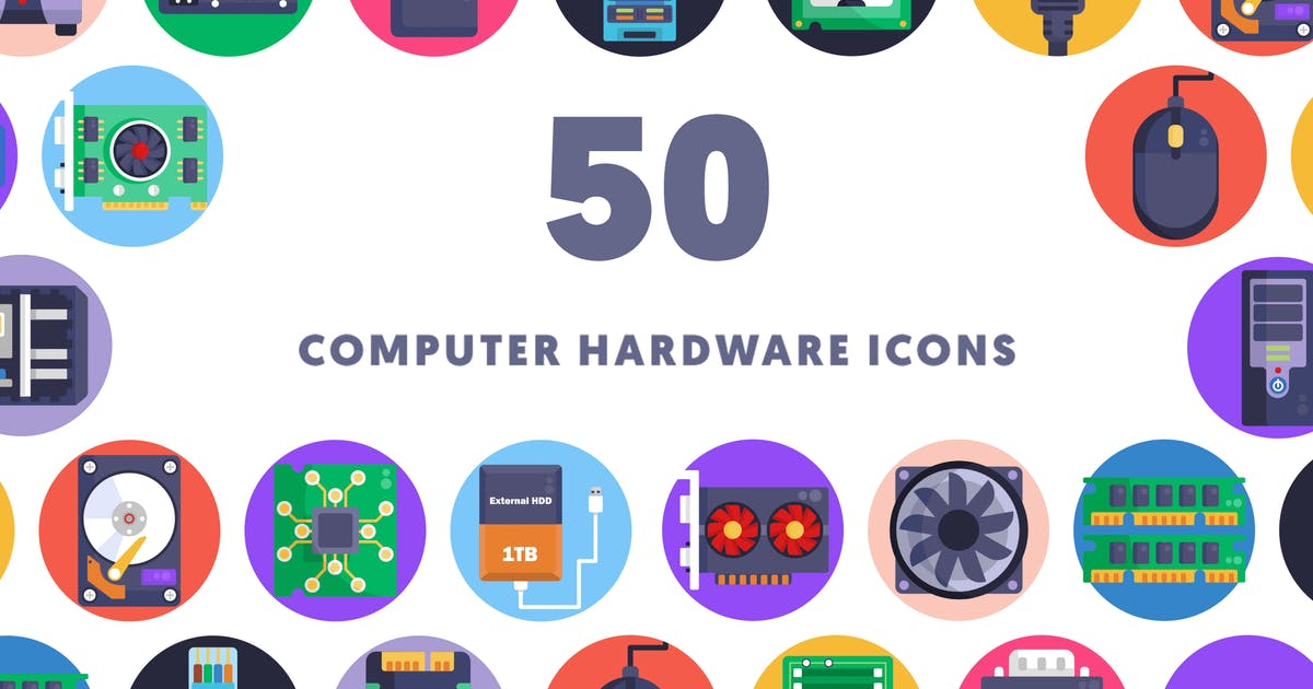 Download Computer Hardware Icons by thedighital