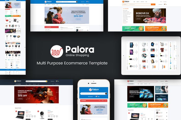 Thumbnail for Palora - Responsive OpenCart Theme