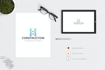 Construction Business Logo Template