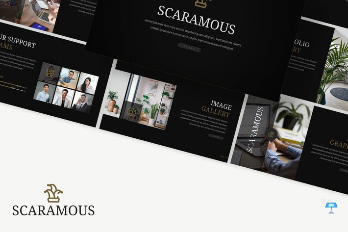 Thumbnail for Scaramous - Business Keynote Template