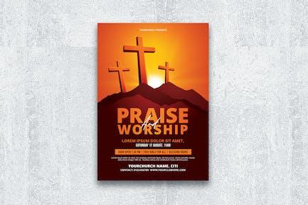 Praise Worship Flyer