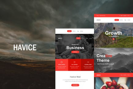 Havice Mail - Responsive E-mail Template