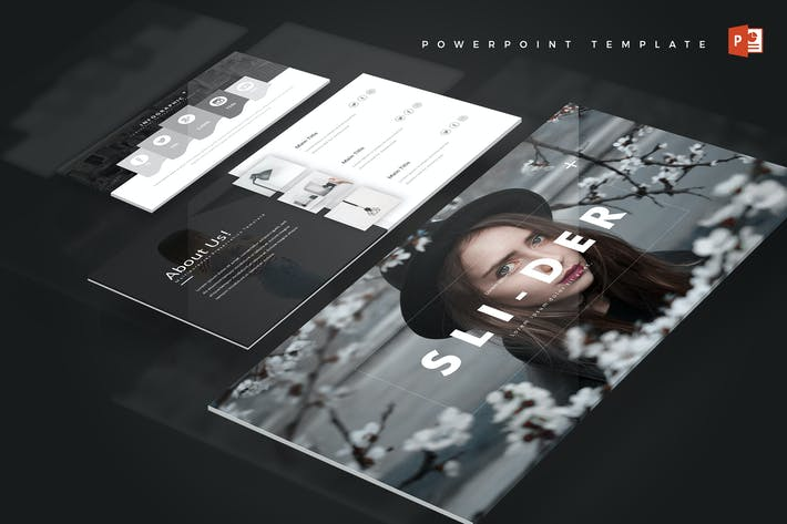 Thumbnail for Slider - Powerpoint Template
