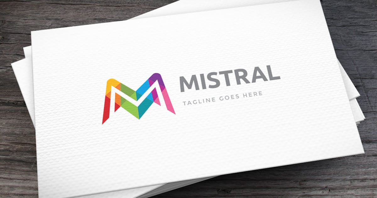 Download Mistral Letter M Logo Template by empativo