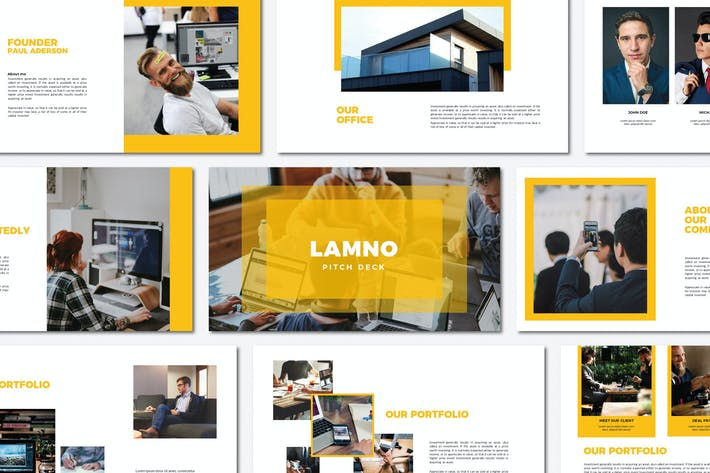 Thumbnail for Lamno Pitch Deck | Google Slides