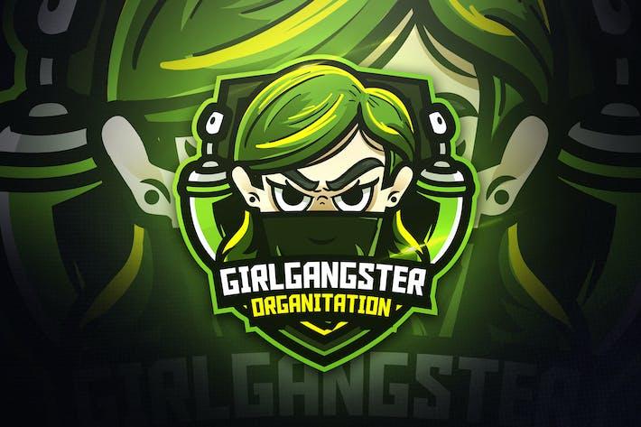 Thumbnail for Girls Gangster - Mascot & Esport Logo