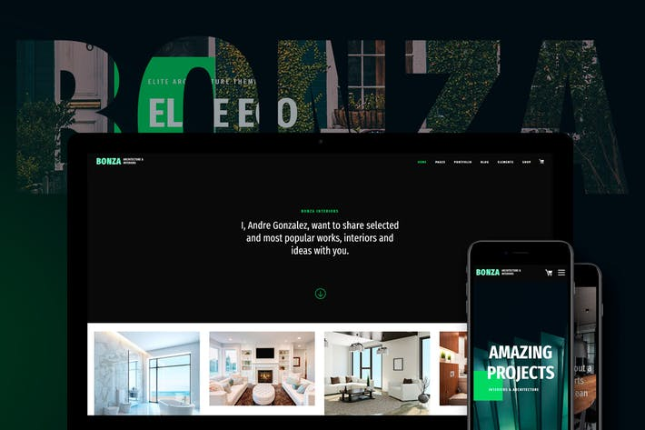 Thumbnail for Bonza Architecture & Interior WordPress Theme