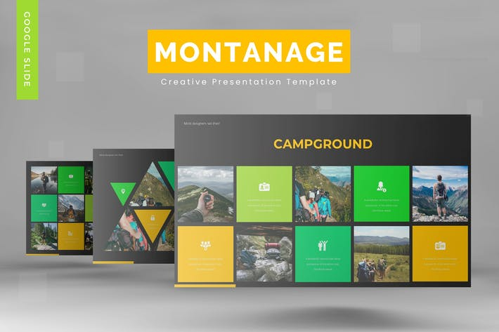 Thumbnail for Montanage - Google Slide Template