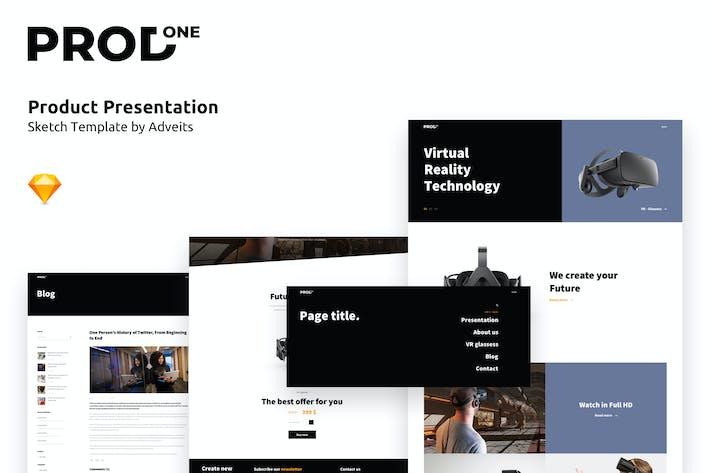 Prodone - Product Presentation Sketch Template
