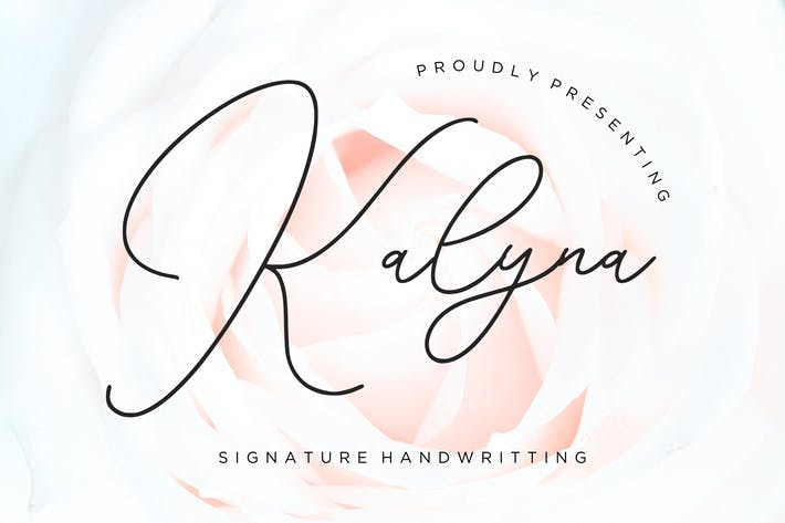 Thumbnail for Kalyna Signature Handwriting