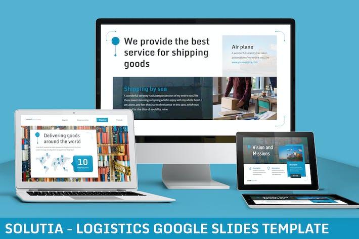 Cover Image For Solutia - Logistics Google Slides Template