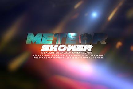 Meteor Shower Hintergründe