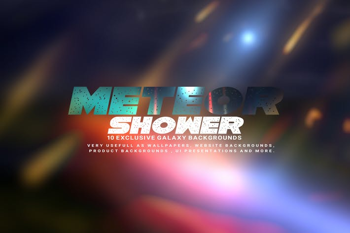 Thumbnail for Fondos de lluvia de meteoritos