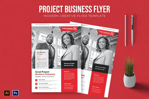 Project Business - Flyer